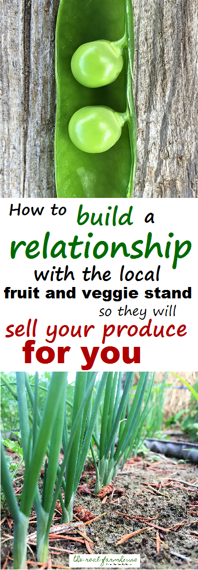 no more sitting at farmers markets selling your own stuff, get the local fruit stand to sell it for you