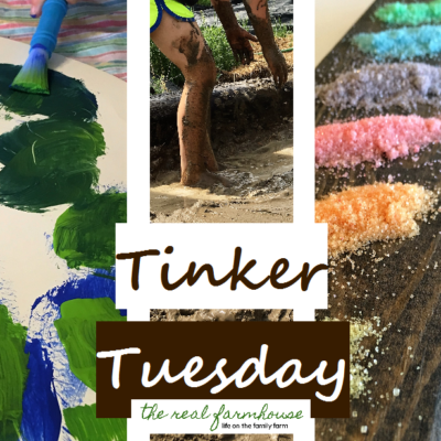 Tinker Tuesday, add more creative learning to your homeschool week