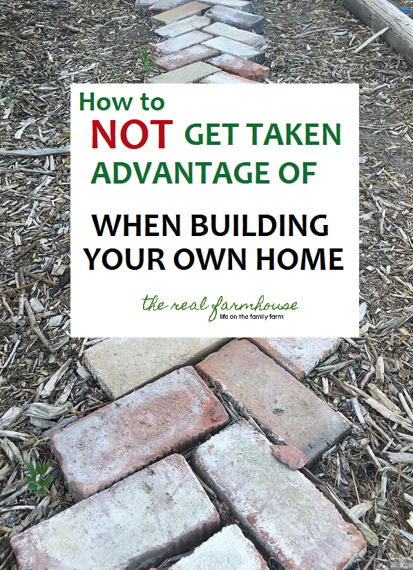 building your own home can be especially scary when you don't know whether or not people are being fair. There are a few ways to make sure you are not getting taken advantage of even if you don't know a hammer from a screwdriver.
