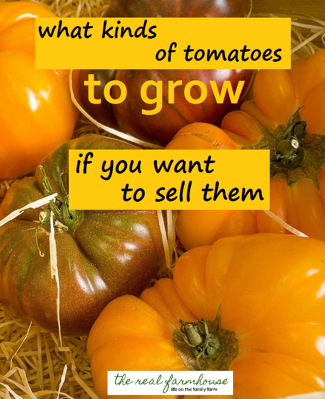 how to know what varieties you should be growing to sell at market, roadside stand, truck garden, you pick, etc