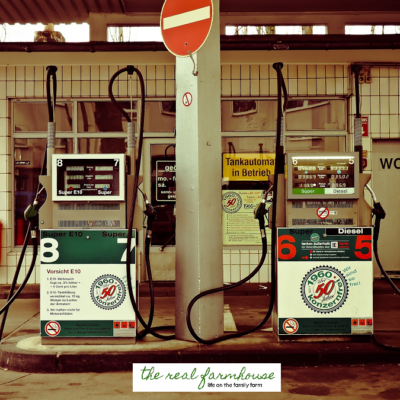 How to save BIG on fuel when you live in the country