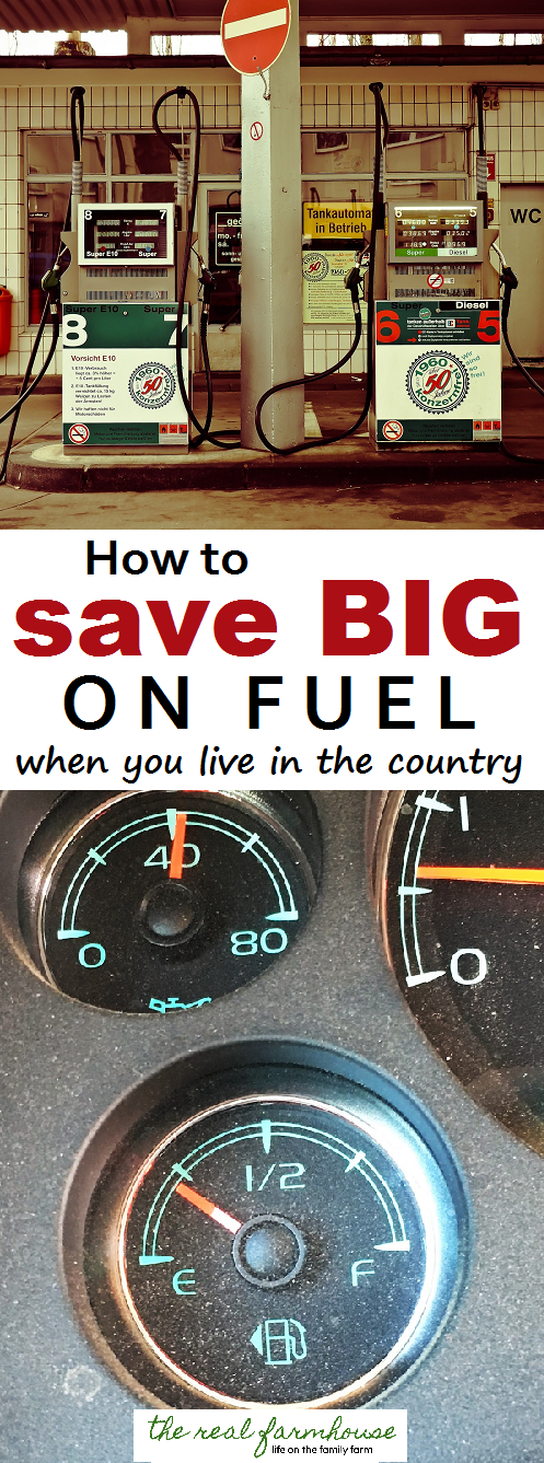 we save hundreds, sometimes thousands a year on fuel by doing these two things