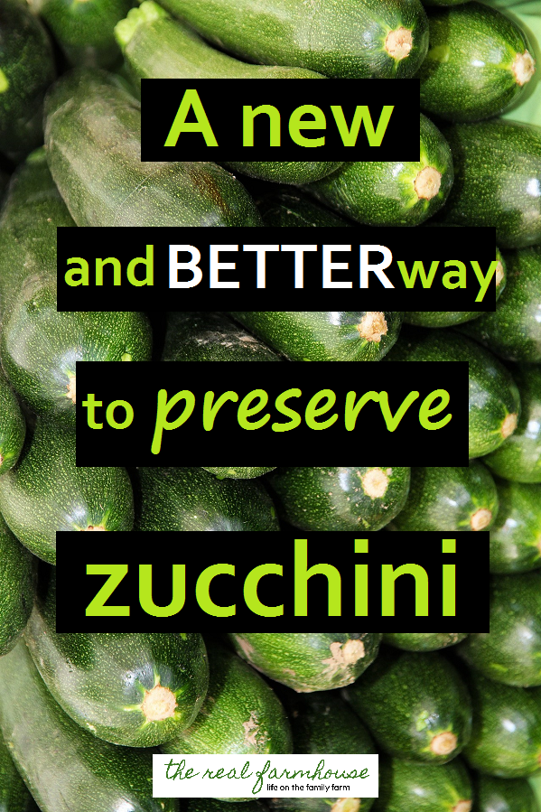 my favorite way to preserve all that extra zucchini. This is such a good idea!