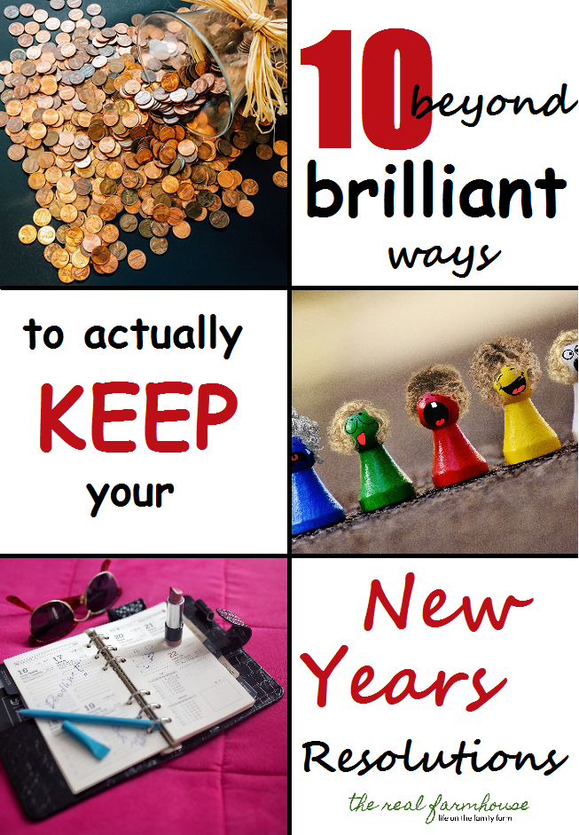 10 beyond brilliant ways to actually keep your new years resolutions. Awesome ideas on how to stick to your new years goals