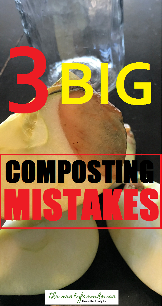 3 big composting mistakes. Avoid these rookie composting mistakes and be on your way to some serious black gold
